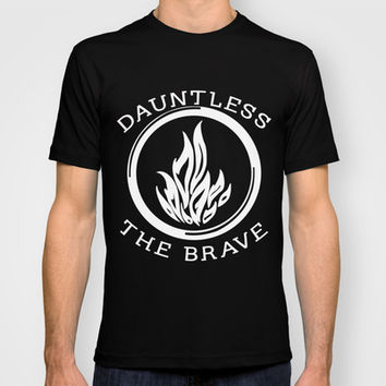 Divergent - Dauntless The Brave T-shirt by Lunil | Society6