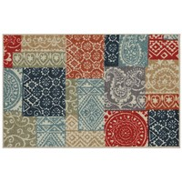 Edenton Aztec Patch Rug - 20'' x 34''