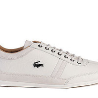 Lacoste Mens Shoes Misano 36 SRM Off White Leather
