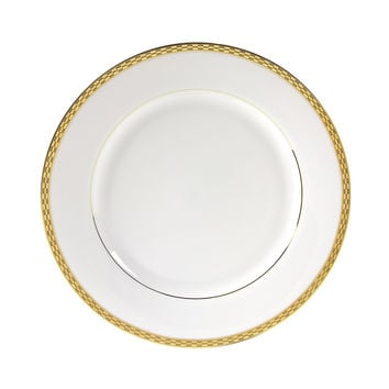 13/4L x 1 3/4H Athens Gold Dinner Plate/Case Of 24
