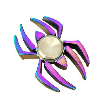 Fidget Spinners Titanium Metal Spiderman Spinner