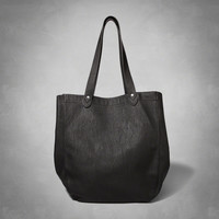 Faux Leather Weekender Tote