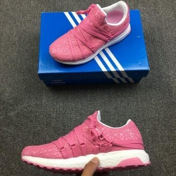 Adidas men and women Gym shoes Light running shoes-4