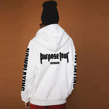 Purpose Tour Pullover Men&Women Hoodies
