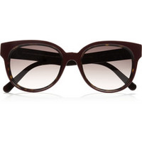 Balenciaga D-frame acetate sunglasses – 65% at THE OUTNET.COM