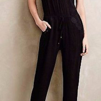 Anthropologie Laced Ravanna Jumpsuit by Lilka Sz M NWT