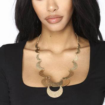 Belong To Nobody Necklace - Gold