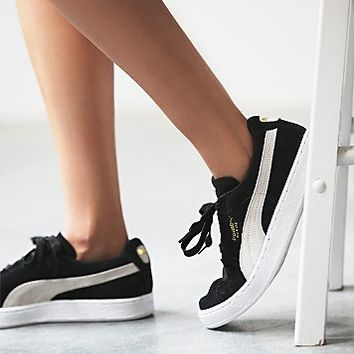low priced b8e1c 07ed4 Puma Suede On Feet Women wearpointwindfarm.co.uk