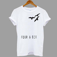 ScreenPrinted Divergent tattoed four and six Popular shirt for T shirt mens, t shirt woman available size S,M,L,XL,XXL in MatiAja
