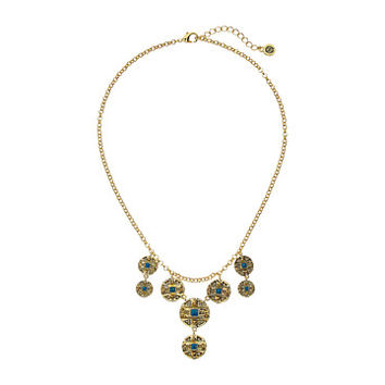 House of Harlow 1960 Maricopa Coin Collar Necklace Turquoise - Zappos.com Free Shipping BOTH Ways