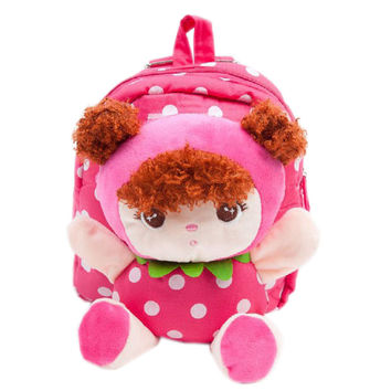 Rose Baby Girl Toddler Backpack Infant Lovely Knapsack Cute Baby Bag 1 - 4Y