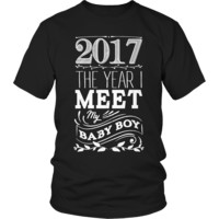 Limited Edition - 2017 The year I meet my baby boy