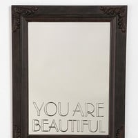 Urban Outfitters - You Are Beautiful Mirror