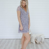 Sweet As Sugar Wrap Dress