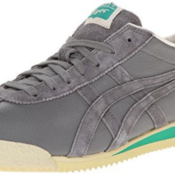 Onitsuka Tiger Corsair Fashion Sneaker,Grey/Grey,12.5 M US/14 Women's M US