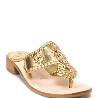 "Jack Rogers ""Hamptons"" Thong Sandals"