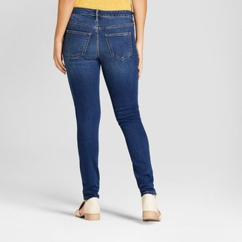 Women's Mid-Rise Jeggings - Universal Thread™ Dark Wash