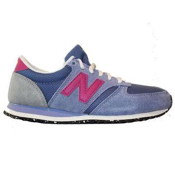 LMFON new balance 420 capsule slate violet suede mesh lifestyle sneaker
