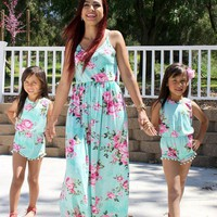 2018 Summer Mom & Me Matching Outfits Moms Dress Pre-Order