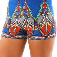 Palace Princess Shorts: Multi
