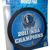 NBA Dallas Mavericks NBA Champions Mouse Pad