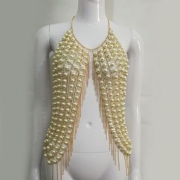 Stellar Body Chain in Mother of Pearl