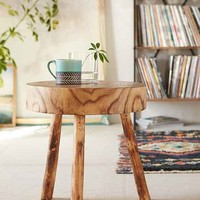 Circle of Life Stool- Brown One