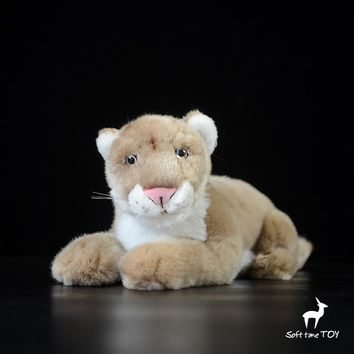 Puma Stuffed Animal Plush Toy 12""