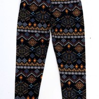 Kids Tribal Print Leggings