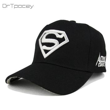 Trendy Winter Jacket Embroidered Superman Baseball Caps Truckers Gorras Snapback Cap Hip Hop Dad Hat Casual Hat Adult Bone Unisex Vintage Hat Caps AT_92_12
