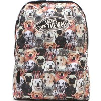 Vans - ASPCA School Backpack - Womens Backpack - Multi - NOSZ