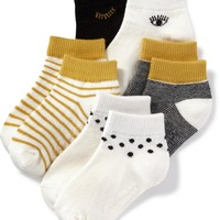 Ankle Socks 4-Pack for Toddler & Baby | Old Navy
