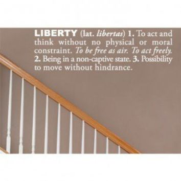 ADZif Blabla Liberté (French) Wall Decal - T3118-FR - All Wall Art - Wall Art & Coverings - Decor