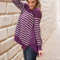Future Preference Top, Plum