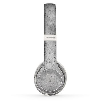 The Concrete Grunge Texture Skin Set for the Beats by Dre Solo 2 Wireless Headphones