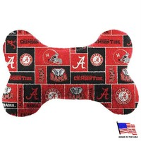 DCCKIV4 Alabama Crimson Tide Plush Bone Toy