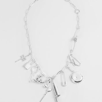 "AMBUSH ""Multi Charm"" Necklace"