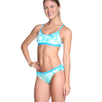 Nike Swim Acid Wash Adjustable Sport Top 2 PC at SwimOutlet.com - Free Shipping