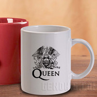 QUEEN Logo 33 Mug And Cup / Custom Mug / Custom Cup