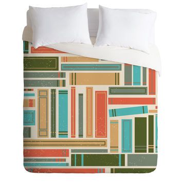 Matt Leyen Literature Duvet Cover