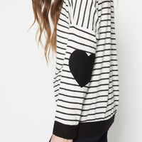 Heartland Striped Knit