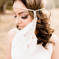Boho Feather Headband #B1064