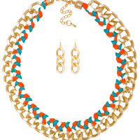 Ricky Thread Chain Necklace Set