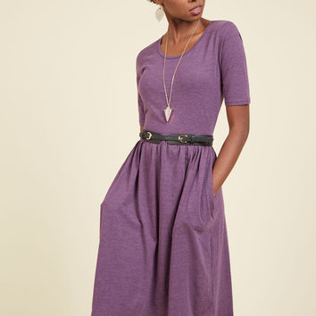 Pack a Brunch Jersey Dress | Mod Retro Vintage Dresses | ModCloth.com