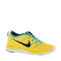 Nike Electric Yellow & Blue Flyknit Performance Trainer