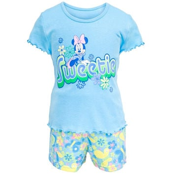 Minnie Mouse - Girl's Sweetie Toddler 2 Piece Set
