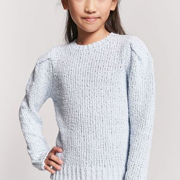 Girls Open Knit Sweater (Kids)