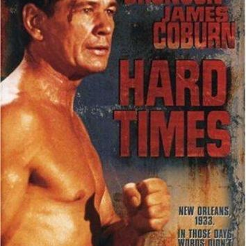 Charles Bronson & Strother Martin & Walter Hill-Hard Times