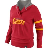 Nike Women's Kansas City Chiefs Red Play Action Hooded Long Sleeve Shirt - Dick's Sporting Goods