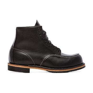 """Red Wing Shoes Beckman 6"""" Classic Moc in Black"""